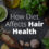 How Diet Affects Hair Health